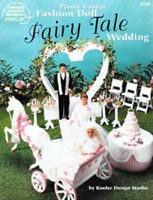 Fairy Tale Wedding Barbie Carriage Cake Sweetheart Arch Candelabra Celebrate OOP