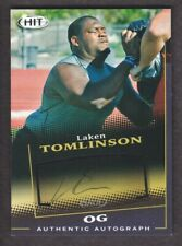 2015 SAGE HIT Football Autograph Black A71 Laken Tomlinson Auto Duke Blue Devils
