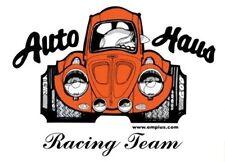 Empi T-Shirt VW Bug, Auto-Haus Racing Team 100% Cotton Large 15-4036