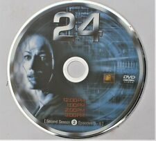 24 (TV SHOW) - SEASON 2 - DISC 2 REPLACEMENT DVD DISC ONLY