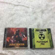 Lot 2 Duke Nukem 3D Plutonium Pack Expansion and PC Game J2