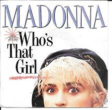 "45 TOURS / 7"" SINGLE--MADONNA--WHO'S THAT GIRL / WHITE HEAT--1986"