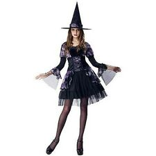 Women's Gothic Witch Halloween Costume Dress Up Size Small 4 - 6 - NEW
