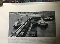 k1-2 ephemera picture 1957 view from lighthouse dover admiralty pier