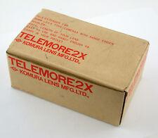 KOMURA for Leica M6 M 240 M9 M10 MP Telemore 2x Tele extender Konverter M39 LTM
