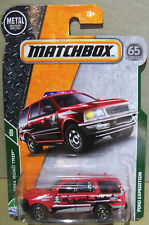 MATCHBOX MBX ROAD TRIP SERIES FORD EXPEDITION IN RED #29/35 OR #110/125