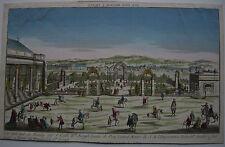 Optical view visionneuse feuille vienne chevaux la piste par Kolor Orig CUIVRE pli 1780