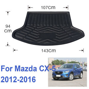 For Mazda CX-5 2012-2016 34 Rear Trunk Tray Cargo Boot Liner Mat Floor Protector