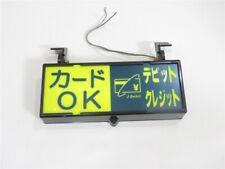 RARE Japanese Taxi Sign Light Retro Showa Era Cab Free Shipping Japan 36