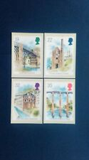 1989 INDUSTRIAL ARCHAEOLOGY STAMPS PHQ CARDS WITH A TELFORD F.D.I.