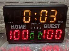 MacGregor SK2229R Multisport Indoor Scoreboard With Remote