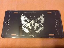 Butterfly Black Wholesale Novelty License Plate Bar Wall Decor
