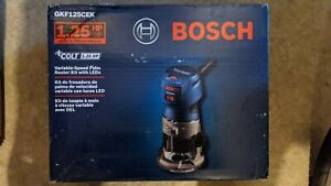 BOSCH GKF125CEK Colt 1.25 HP Variable-Speed Palm Router Kit with Edge Guide