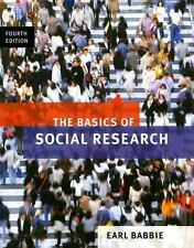 The Basics of Social Research by Earl R. Babbie (2007, Paperback). FREE SHIPPING