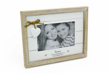 Vintage Shabby Chic Sister Photo Frame Gift With Heart 46204
