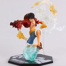 Action figure One Piece Monkey D Luffy battle version 18 cm Rubber RUFY