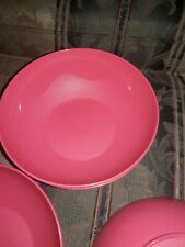 Tupperware Falling for Floral Open House 24 oz Bowls in Flamingo Pink