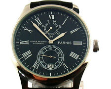 Parnis 43mm Stainless steel Power Reserve Chronometer Automatic men's Watch E331