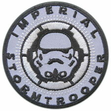 Star Wars Imperial Storm Trooper Classic Episode Movie Sew Iron-On Patches #0035