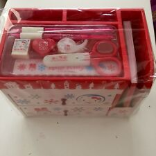 RARE Hello kitty Winter Storage Box Stationary Chest by SANRIO NEW IN ORIG PKG