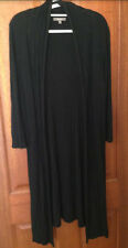 Katies - Black Long Cardigan - Size - 1XL (14-18)