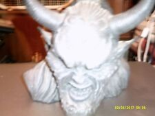 Demon Head Piggy Bank 2003 Marka Gallery 8x8 inch perfect condition