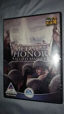 Medal of Honor: Allied Assault (PC, 2002) BRAND NEW - Still Sealed.