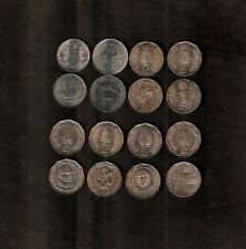 INDIA 2 RUPEES 1998-2011 Commemorative UNC 8 Different COIN SET COLLECTION ASIA