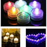 Submersible Waterproof Battery Operated LED Tea Lights Wedding Party Decorations