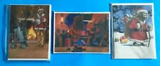 STAR WARS OTC HOLIDAY SPECIAL MCQUARRIE CHRISTMAS CARD SET OF 3