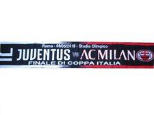 Sciarpa Juventus Milan 4-0 Finale Coppa Italia 9 maggio Ufficiale Originale Roma