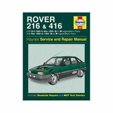 Workshop Manuals Rover 1992 Car Service & Repair Manuals