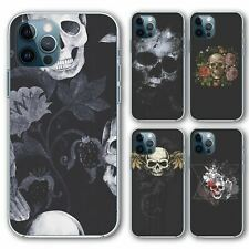 For iPhone 12 Pro Max Silicone Case Cover Skulls Group 4