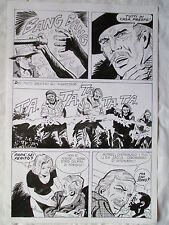 A L'ARME BLANCHE  SPECTACULAIRE PLANCHE GEANTE ELVIFRANCE  PAGE 2
