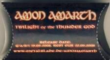 AMON AMARTH - Twilight of the Thunder God - Gehörschutz Earplugs - Sammlerstück