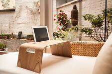 Halterung für iPad 2,3,4 etc. für Bett + Sofa aus Holz, Betthalterung