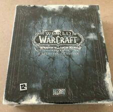 World of Warcraft Wrath of the Lich King Collector's Edition (NEW & SEALED)