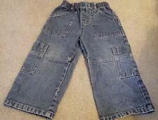 Debenhams baby boy trousers 12-18 months jeans blue 100% cotton