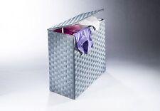 """Wäschekorb aus Nylon Farbe """"grau"""" mit Futter   Wäschesortierer"""