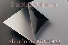 "Aluminum Sheet Metal 5052 H32 Mill Finish (0.025""/24 Gauge) 25"" x 25"""