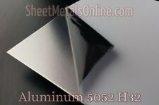 "Aluminum Sheet Metal 5052 H32 Mill Finish (0.040""/20 Gauge) 31"" x 31"""