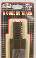 """Atlas N 2001 Code 55 Track 6"""" Rerailer (3 Pieces). New"""