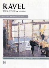 RAVEL JEUX D'EAU Piano