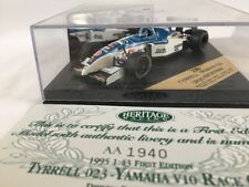 ONYX HERITAGE FORMULA 1 RACING CAR FIRST EDITION TYRREL 023 YAMAHA V10 DIECAST