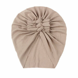 Baby Hat Folded Children's Hat Baby Hats For Men And Women Bow Hat Baby Turban