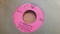 Earl Brown 45 In a Cafeteria with You/Pachalafaka WB 5012 Henry Mancini