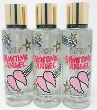 3 Victoria's Secret Fragrance Perfume Mist For Women Showtime Angel 8.4 oz