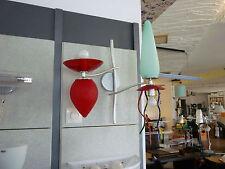 Giocasta 2, Artemide, Wandleuchte, Designerleuchte, buntes Glas, rot, blau, gelb