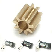 Motor Ritzel Zahnrad für Lego Duplo Intelli Lok Modul 0,4 9 Zähne aus Messing