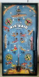 1950's Gotham Pressed Steel AIRPLANE TARGET Bagatelle Style SHOOT GAME~LQQK!